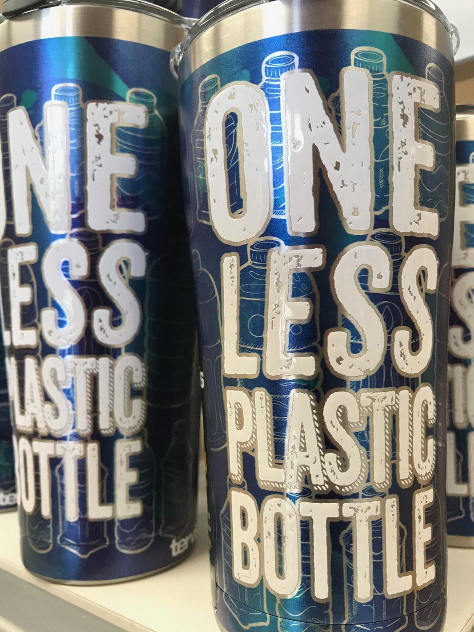 Tervis One less Plastic Bottle